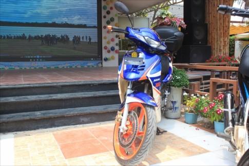Vẻ đẹp của Suzuki FX 125 hồi sinh trong ngày off sinh nhật Suzuki Đồng Nai