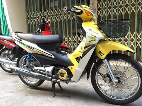 Wave A kieng phien ban yellow noi bat