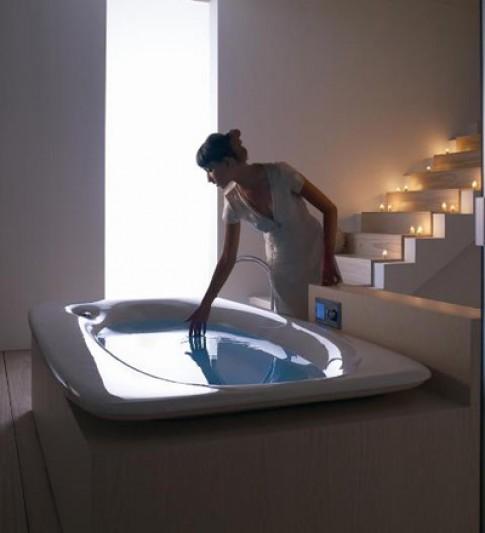 Ý tưởng hình thành chiếc bồn tắm đầu tiên