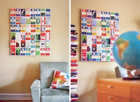 Ý tưởng thú vị cho tường nhà thêm xinh