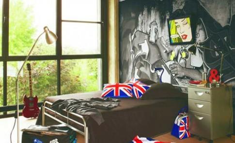 Ý tưởng trang trí tường phòng ngủ 'tuổi teen'