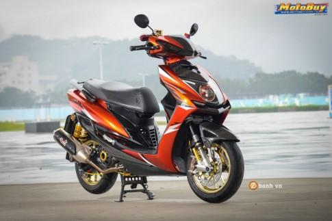Yamaha Cygnus-X độ siêu chất của biker Đài Loan