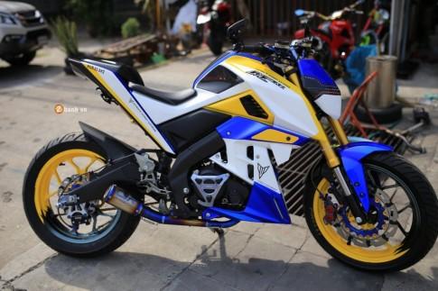 Yamaha M-Slaz đầy nổi bật và phong cách trong bộ cánh mới