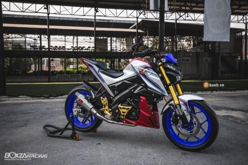 Yamaha M-Slaz đầy nổi bật với phong cách Optimus Prime