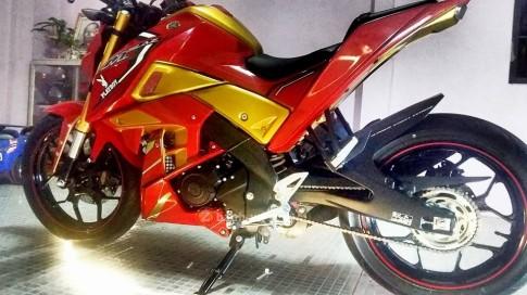 Yamaha M-Slaz độ phong cách Iron Man