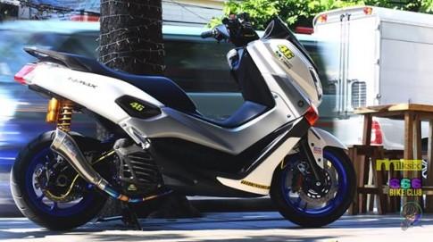 Yamaha N-Max độ khủng với dàn đồ chơi độc nhất