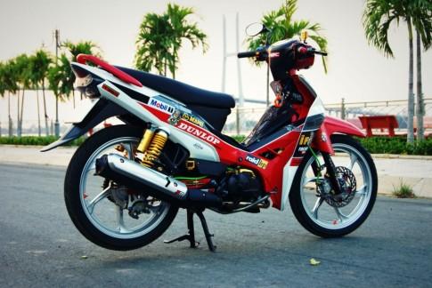 Yamaha Sirius phien ban Dunlop tu Thap Muoi - Dong Thap