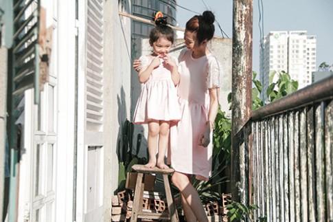 10 mẫu váy đôi ngọt ngào cho mẹ diện chung với con gái