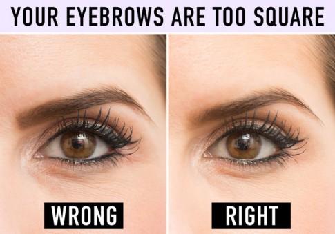 10 sai lầm khiến cặp lông mày trở nên xấu xí