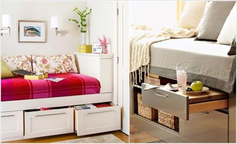 10 ý tưởng tăng chỗ cất đồ cho phòng ngủ