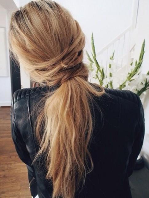 1001 biến tấu cực xinh cho tóc đuôi ngựa