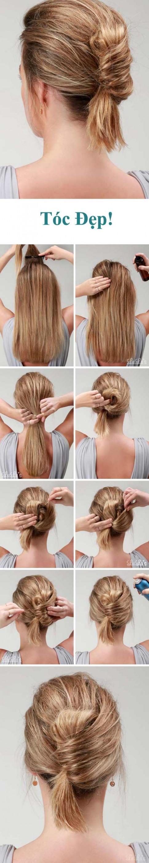 11 kiểu biến tấu với tóc tuyệt vời dành riêng cho nàng công sở
