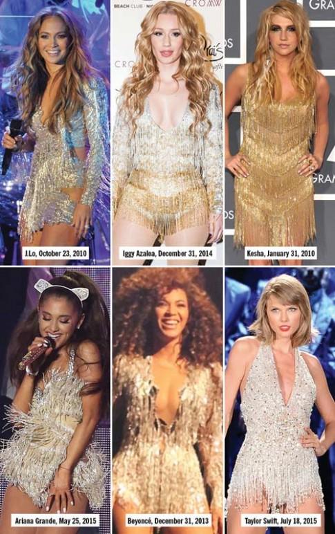 """13 kiểu đồ diễn """"đốt cháy sân khấu"""" của sao nhạc Pop"""