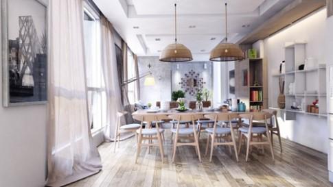 13 mẫu bếp - phòng ăn tiện nghi, đẹp mắt
