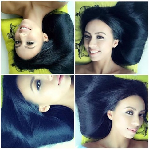 2 bí quyết chống rụng tóc sau sinh của MC xinh đẹp