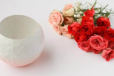 3 bước để có bình hoa Ombre xinh yêu
