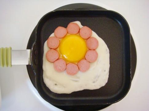 3 bước đơn giản có món trứng ngon, đẹp cho bé