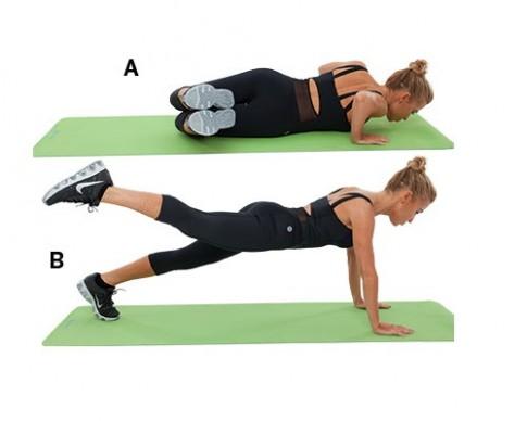 4 động tác chuẩn cho vòng eo và mông đẹp như mơ