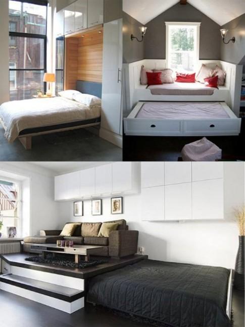 5 cách khắc phục phòng ngủ chật hẹp
