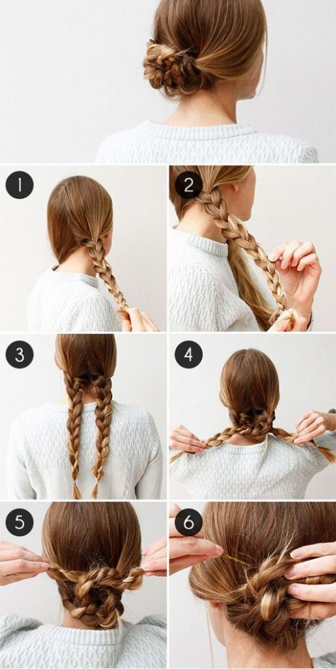 5 kiểu tóc búi mùa hè cho chị em U30 ăn gian tuổi