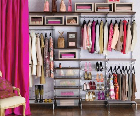 5 nguyên tắc sắp xếp tủ quần áo