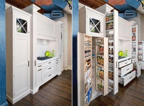 5 ý tưởng giấu gọn mọi thứ trong bếp