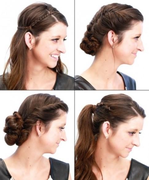 6 cách làm mới cho mái tóc dài