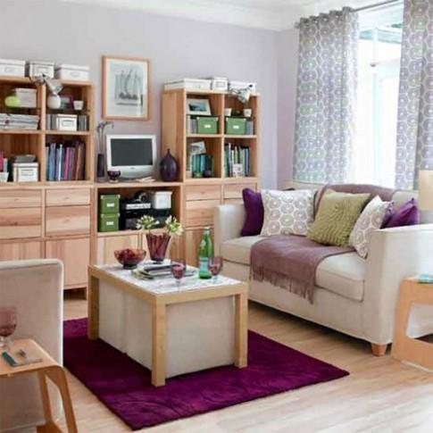 6 mẹo tăng thêm chỗ ngồi cho phòng khách nhỏ