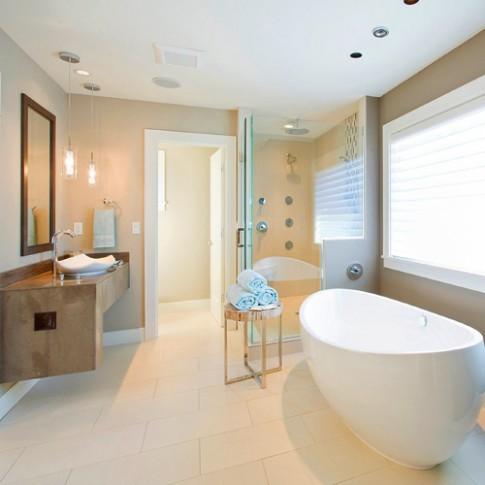 8 cách sáng tạo trữ đồ nhà tắm thêm gọn