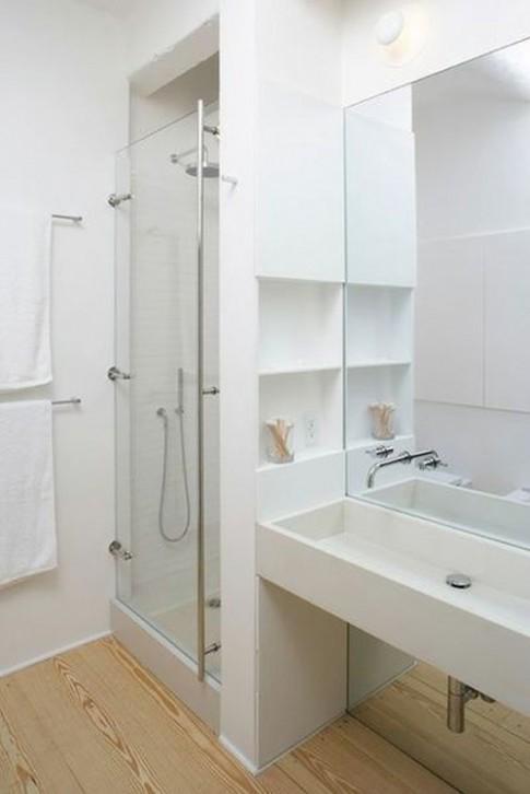 9 ý tưởng lớn tối ưu hóa không gian phòng tắm hẹp