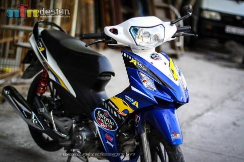 Axelo Phong cach voi Tem dau MarcVDS Honda motogp