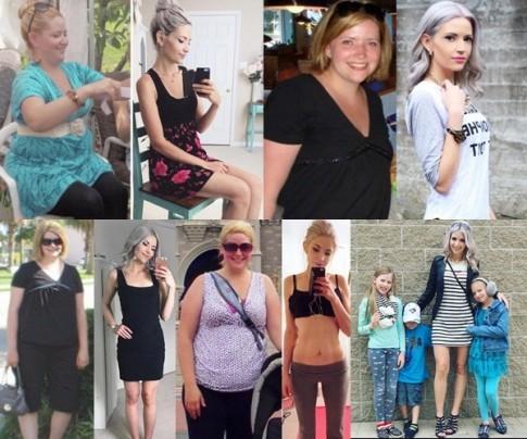 Bà mẹ 3 con xinh như thiếu nữ nhờ giảm 32kg