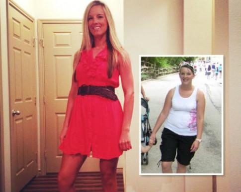 Bà mẹ trẻ giảm gần 50kg do…thay đổi lối sống