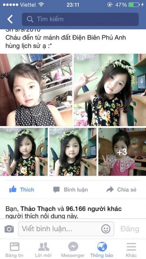 """Bé gái 5 tuổi được khen """"xinh hơn"""" HH Kỳ Duyên"""