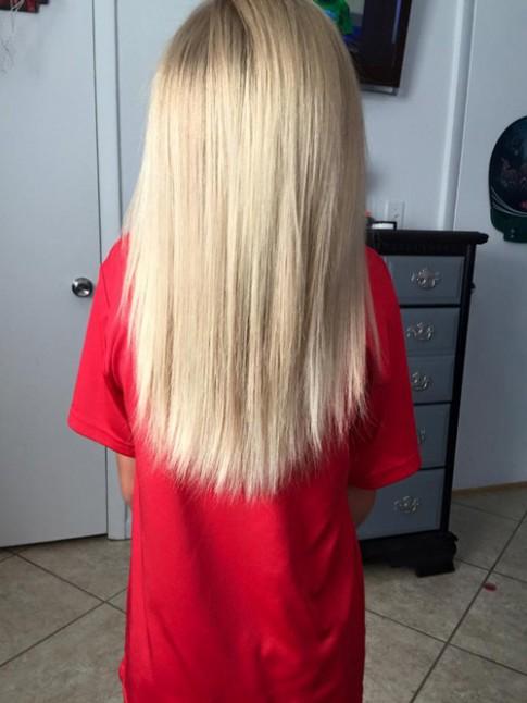 Bé trai 8 tuổi chịu bị bắt nạt hơn 2 năm để nuôi tóc dài