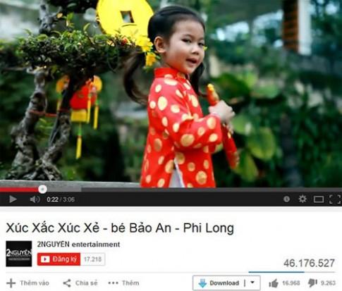 Bé Việt 8 tuổi sở hữu MV gần 50 triệu lượt view trên Youtube