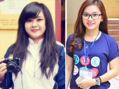 Bí quyết của nữ sinh trường Báo giảm gần 30 kg trong 2 tháng