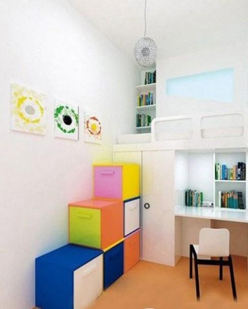 Bí quyết thiết kế phòng nhỏ thêm rộng