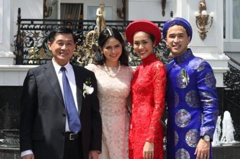 Biệt thự nhà chồng Hà Tăng lên sóng truyền hình