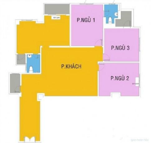 Bố trí nội thất hợp lý cho căn hộ 150 m2