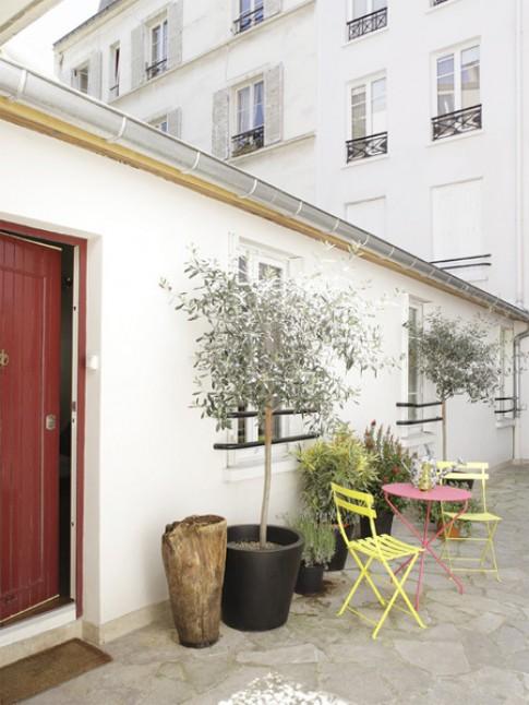 Bố trí nội thất khép kín trong căn nhà 32 m2