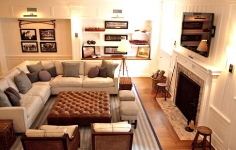 Bố trí nội thất thông minh cho phòng khách