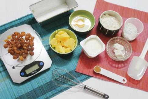 Bữa sáng lý tưởng với bánh bơ long nhãn sữa chua