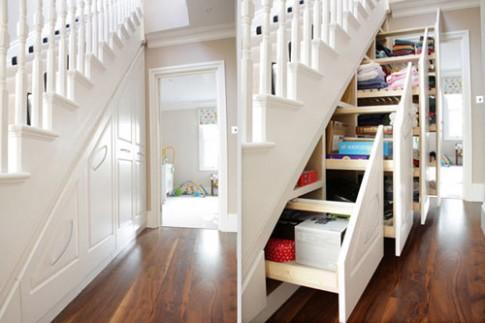 Các cách giấu đồ lặt vặt trong nhà