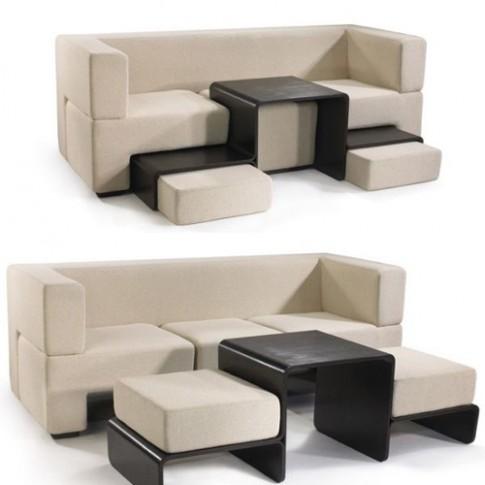 Các kiểu sofa gọn gàng nhiều chức năng