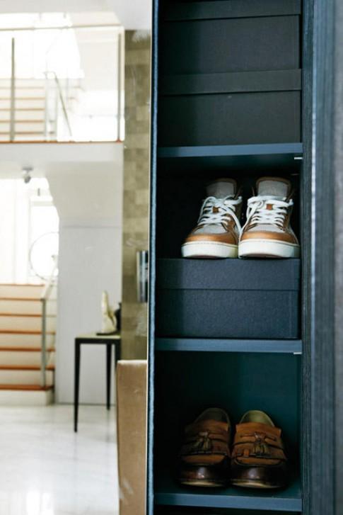 Các tủ chứa đồ siêu mỏng cho nhà chật
