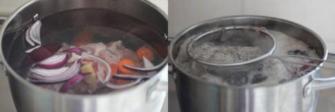Cách bảo quản nước xương heo để dành ngày Tết
