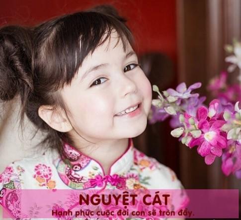 Cách đặt tên cho con gái hạnh phúc, may mắn suốt đời P.1