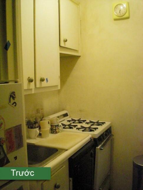 Cải tạo bếp cũ kỹ trở nên gọn gàng hơn