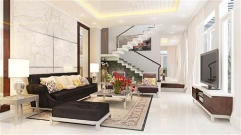 Cải tạo nhà phố 80 m2 theo phong cách hiện đại